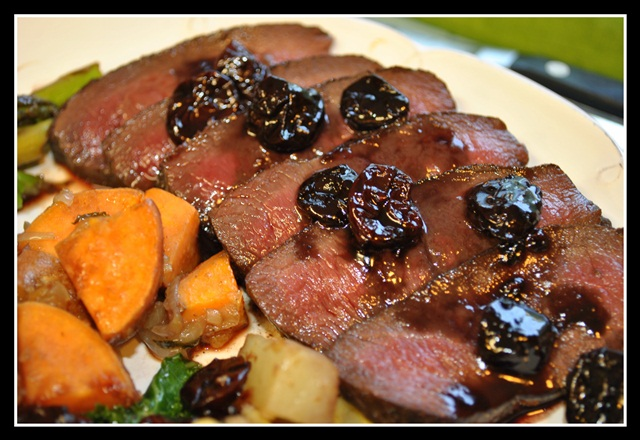 Slow-Roasted Spice-Rubbed Venison Loin Recipe — Dishmaps