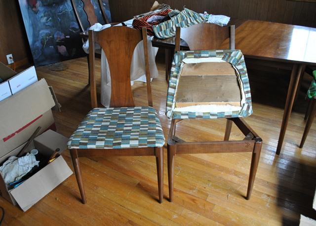 Updating Kitchen Chairs–oops!   T h e F o o d e r y