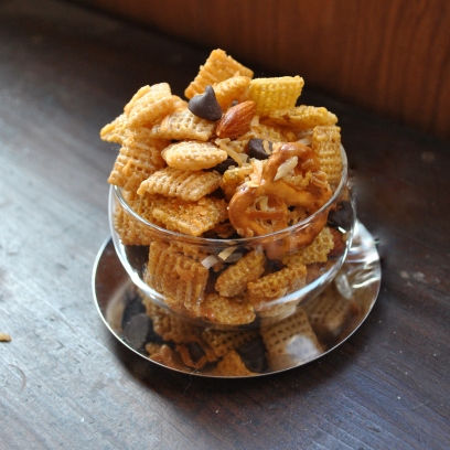 Honey-Coconut Chex Mix