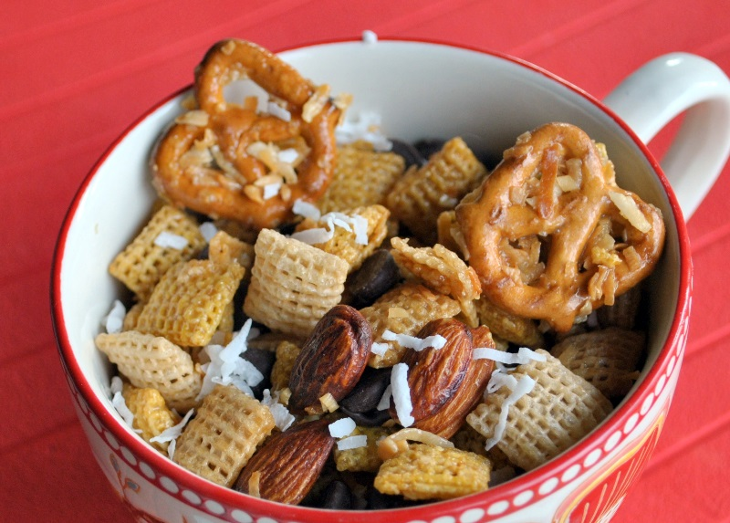 chex mix chex mix recipe two peas chocolate coconut chex mix chex mix ...